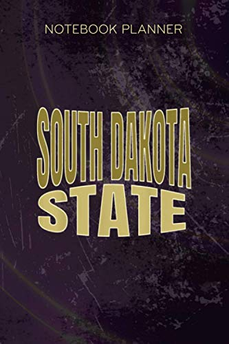 Notebook Planner South Dakota State: Tax, Over 100 Pages, Appointment, 6x9 inch, Happy, Monthly, Paycheck Budget, Meal
