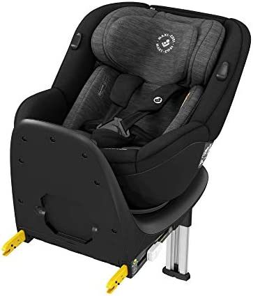 Maxi-Cosi Mica 360° Rotative Car Seat with ISOFIX, Convertible, Rearward and Forward Facing, from Birth Until 4 Years, 40-105 cm, Authentic Black, 14.9 kg