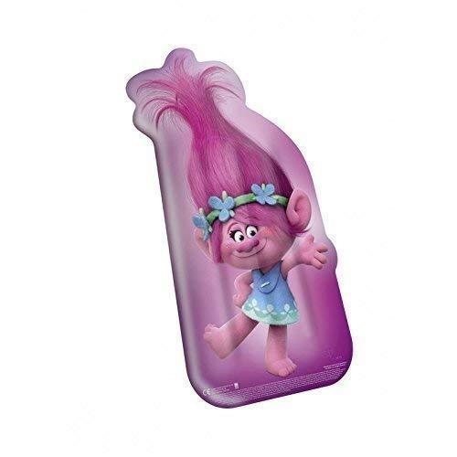 Lively Moments Surfrider / Luftmatratze / Aufblasrider / Surfboard mit dem Bild von DreamWorks Trolls Poppy ca. 113 x 51 x 16 cm in pink