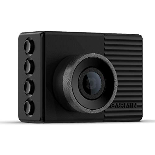 Garmin Dash Cam 46 GPS-Enabled with 2-inch Display, Voice Command, Wide 140-degree Field of View and Recording in 1080p HD Video
