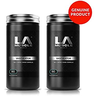 LA Muscle Vasculator x 2 Pack - JUST £77 RRP £140