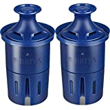 Britа Longlаst Water Filter, Longlаst Replacement Filters for 10060258362432 Pitcher and Dispensers, Reduces Lead, BPA Free - (Pack of 2)