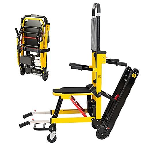 Carrozzina elettrica per arrampicata su scale cingolata - La sedia a rotelle pieghevole consente alle persone disabili e anziane di superare scale e pendii in modo facile e stabile