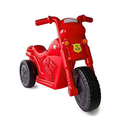 The Piki Piki Bike | Durable & Easy To Ride Toddler Bike, Made In The USA (Red)