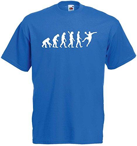 Handball Herren Evolution T-Shirt WM Sport Shirtroyalblau-S