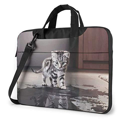 Cat Pictures Big Tiger Laptop Bag Messenger Bag Briefcase Satchel Shoulder Crossbody Sling Working Bag