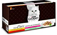 PURINA GOURMET, A la Carte, Wet Cat Food Variety Mix, 60 Pack, 85 g