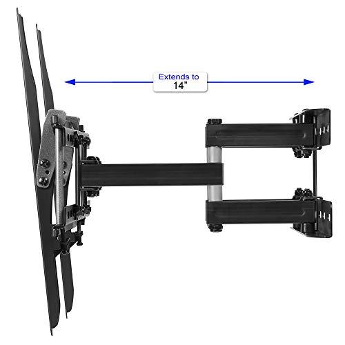 """Carphone Warehouse APDAM3B Soporte De Pared para Televisores y Pantallas de 20"""" - 65'; MAX VESA 400 x 400 y Peso Máximo kg 52; Cable HDMI de 3 Metros y Nivel Magnético con 3 Burbujas de cm 15"""