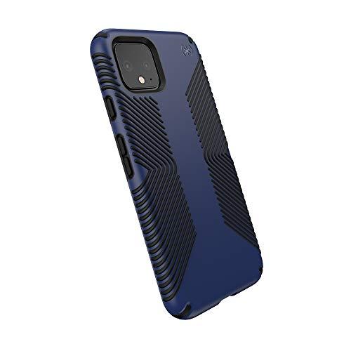 Speck Presidio Grip Google Pixel 4 Case, Coastal Blue/Black, Model:131857-8531