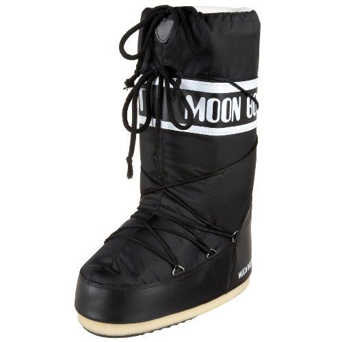 Moon Boot 140044, Stivali Invernali Unisex, Nero, 31-34