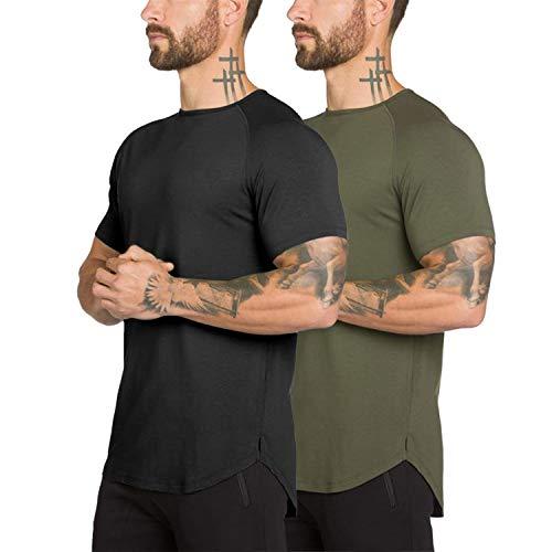Mens Gym Workout Slim Fit Short ...