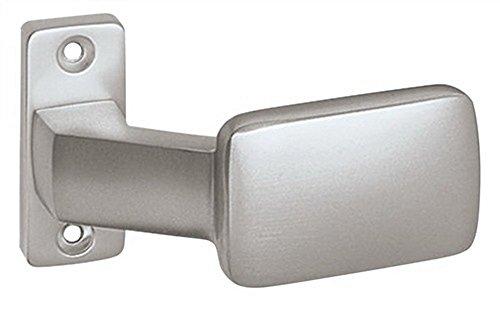 Türknopf f.Rahmentüren feststehend gekröpft auf Rosette VK 8mm Alu F1 naturf.