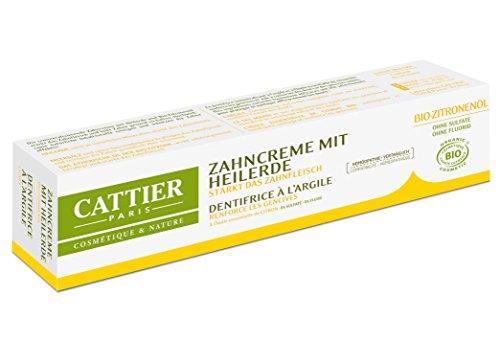 CATTIER Zahncreme mit Heilerde Zitrone (1 x 75 ml)