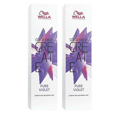 2 er Pack Color Fresh Create direktziehende Tönung Pure Violet 60 ml