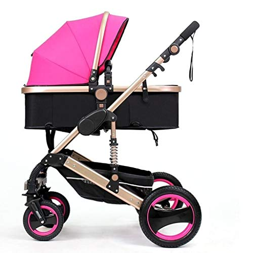 For Sale! LMDC Baby Stroller Can Sit Reclining Folding Four-Wheeled Two-Way Shock 0-3 Years Old Baby...