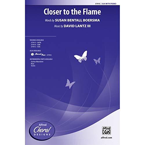 The Flame - Words by Susan Bentall Boersma, music by David Lantz III / arr. David Lantz III - Choral Octavo - SSA
