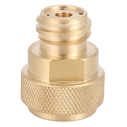 2 Farben CO2 Zylinder Nachfülladapter Ersatz Messing Tank Kanister Umwandlung für Soda Maker Home Maschine(Gold)