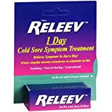 Pack of 3 Each RELEEV 1 Day Cold Sore TRTMENT 6ML PT#63468941906 by Marble Medical
