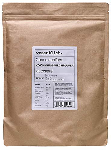 Kokosnussmilchpulver (1000g) - im Standbodenbeutel von wesentlich.