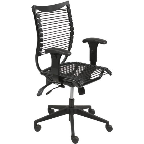 balt office chair ergonomics Balt Comfort Seatflex Upholstered Managerial Chair With Height Adjustable Arms And Dual Wheel Casters Black