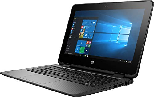 "HP ProBook x360 11.6"" G1 EE Notebook, LED HD Touchscreen, Intel Celeron N3350 Dual-Core 1.1GHz, 4GB DDR3, 64GB SSD eMMC, 802.11ac, Bluetooth 4.2, Win10Pro - 64Bit"