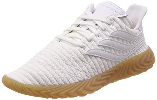 Adidas Sobakov, Zapatillas de Deporte para Hombre, Blanco (Ftwbla/Ftwbla/Gum3 000), 42 2/3 EU