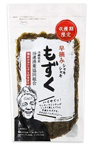 勝連漁協 早摘み生もずく 250g×5個パック フコイダンたっぷりの沖縄県産モズク100%使用 貴重な早摘みもずくを使用 美容・健康維持に