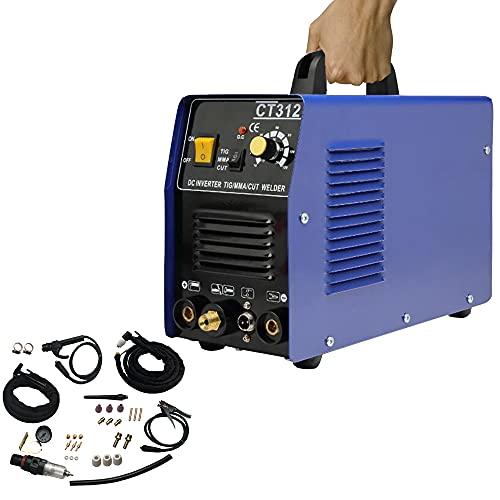 funchic 3 in 1 Welder Machine 110V CT312 TIG/MMA Air Plasma Cutter Welding Machine