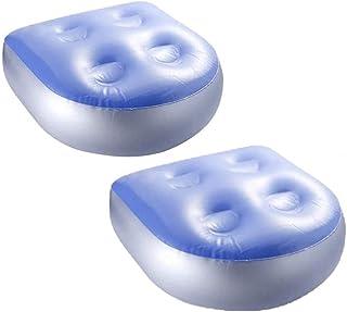LATERN 2 st uppblåsbar booster-säte, badtunna kudde spa booster sätesryggdyna med 4 st sugkoppar för alla spa och badkar (...