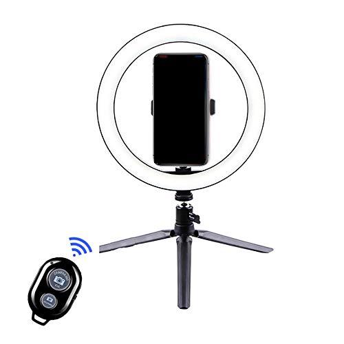 Luie Universele Mobiele Telefoon Live Desktop, Vloerstandaard Met Bluetooth-afstandsbediening En Zelfontspannerfotografie Beauty Ring Natuurlijke Verlichting LED-verlichting,S