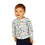 Charanga  COTURITAS Camiseta de Manga Larga, Multicolor (Multicolor 100), 74 (Tamaño del Fabricante:9-12) para Bebés