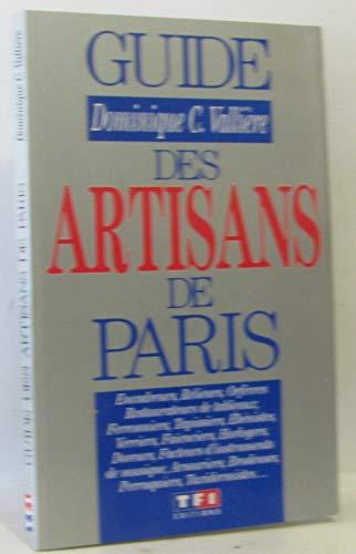 Guide des artisans de Paris (Tf1 Bricol.Deco)