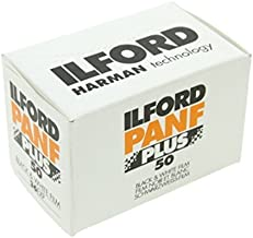 Ilford PAN F Plus, Black and White Print Film, 135 (35 mm), ISO 50, 36 Exposures 3-Pack