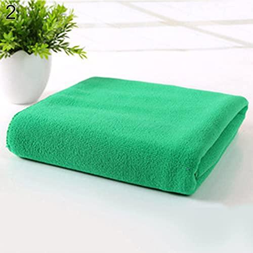 Toallitas de algodón suave, de microfibra, para viajes, gimnasio, camping, deportes, secado...