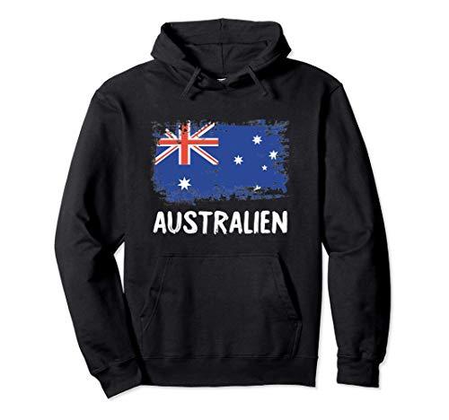 Australien Flagge Australia Fahne Fan Geschenk Pullover Hoodie