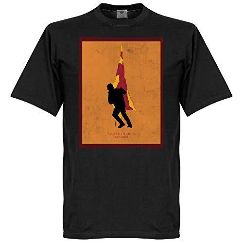 Ulubatli Souness Galatasaray Fahne T-Shirt - schwarz - L