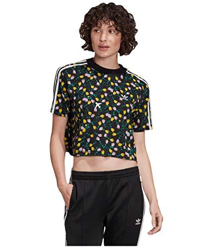 adidas Originals - Camiseta de manga corta para mujer -  Multi -  Medium