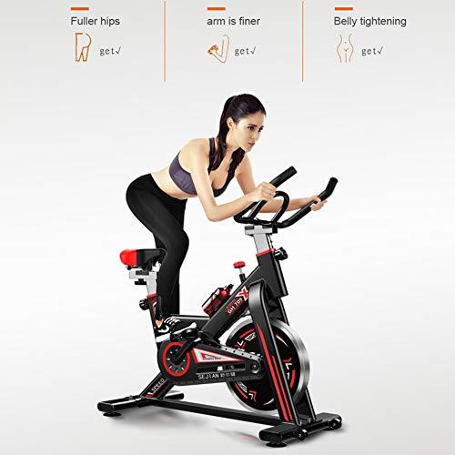 F-JX Cubierta de Fitness la Bicicleta estática, el hogar Deportes Entrenador de Ciclo de la Bici, la Resistencia de Velocidad, Bajar de Peso Equipo de la Aptitud