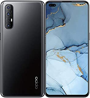 موبايل اوبو رينو3 برو بشريحتين اتصال - شاشة 6.4 بوصة، 256 جيجابايت، رام 8 جيجابايت، شبكة الجيل الرابع ال تي اي - اسود ميدنايت