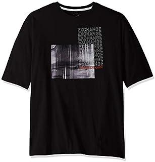 A|X Armani Exchange mens Short Sleeve Crew Neck Graphic Logo T-shirt T-Shirt