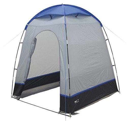 High Peak 14012 Tente d'appoint multifonctionnelle Mixte Adulte, Bris/Bleu, 165 x 165 x 200 cm