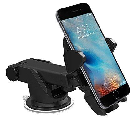 Topgadgetsuk Universel Tableau de Bord et Pare-Brise de Voiture Support de Fixation avec Bras Extensible iPhone 8 iPhone X Samsung S9 S9plus Note 8 Note 9