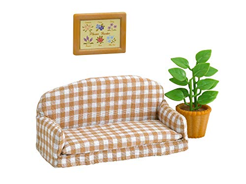 Epoch 1 X Sylvanian Families Living Room Sofa Over -518 by