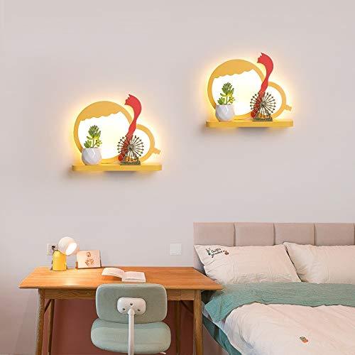 XZhstes Dormitorio Led Lámpara de Pared de Fondo de la Lámpara de Pasillo de la Habitación de los Niños Decoración de la Lámpara