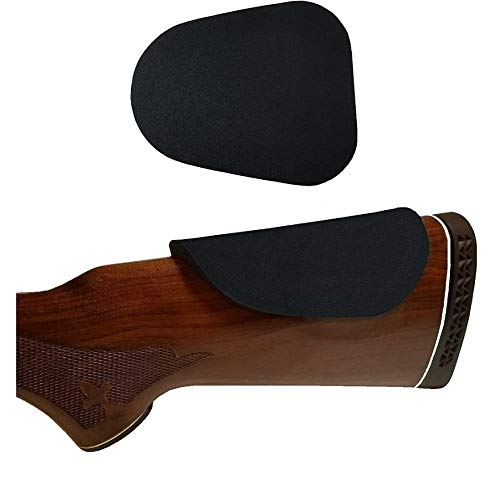 Cheek Pad for Rifle and Shotgun Stocks Leather Black Cheek Riser Comb Riser (1/4 inch)