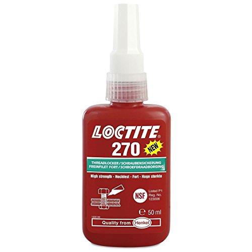 50 ml Loctite 270 Schraubensicherung bis M20 - Hochfest - Grün - Das Original