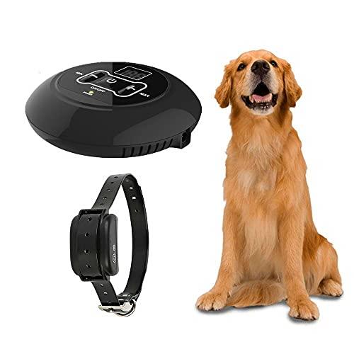 Premium Collar Antiladridos para Perros Adiestramento Perros No Electrico Collares Anti Ladridos Dispositivo Entrenamiento 1600 Pies De Larga Distancia Entrenando Uno A Muchos (Quantity : One)