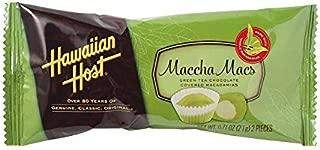 Hawaiian Host MATCHA MACS - 0.74oz (21g), 2 pieces - 24 bars