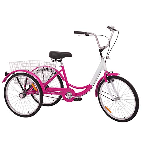 cute hot pink tricycle for women