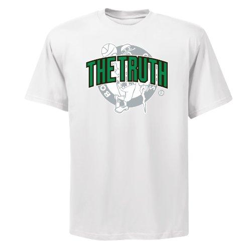 NBA Men's Boston Celtics Paul Pierce Notorious 2.0 Basic Tee (White, X-Large)